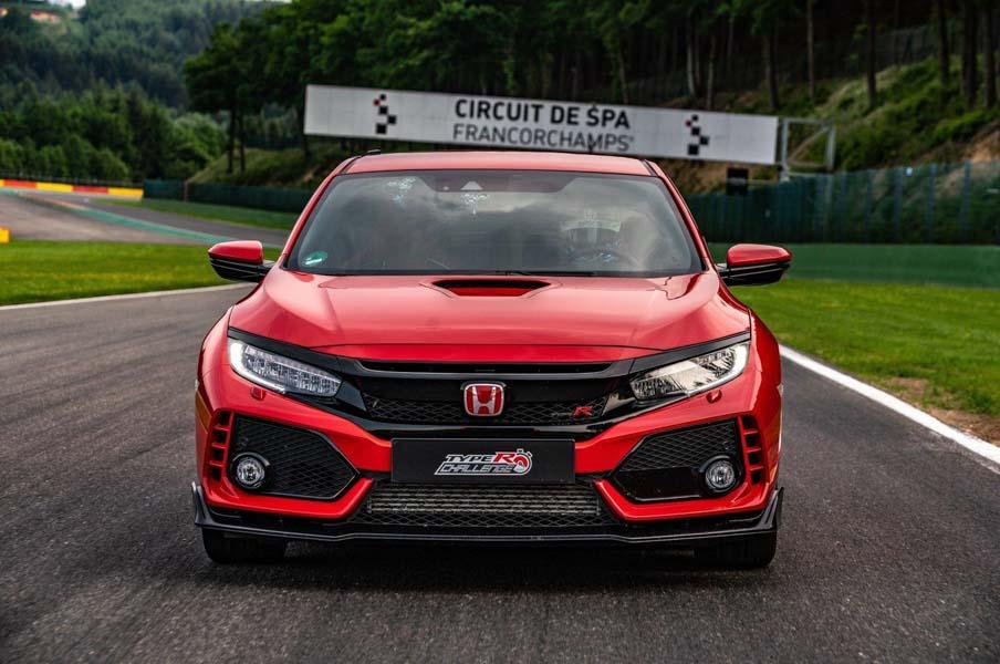 Honda Civic Type R gây ấn tượng với tốc độ tại trường đua Spa-Francorchamps - 6