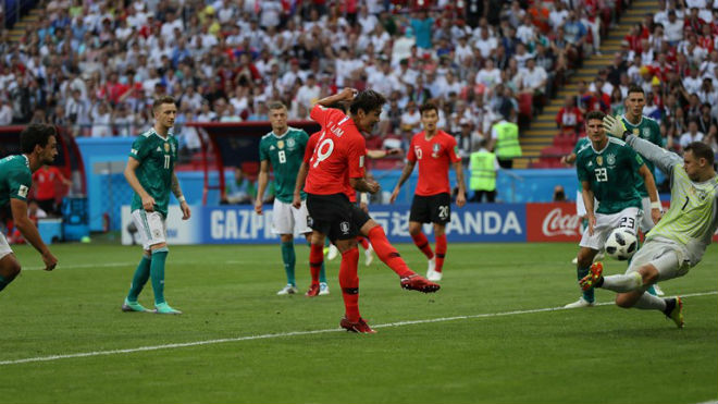 """Đức - Hàn Quốc: Đòn đau phút bù giờ, ngỡ ngàng """"đại địa chấn"""" (World Cup 2018) - 1"""