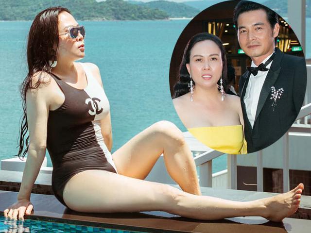 Vợ đại gia gốc Thanh Hóa hơn 7 tuổi của Quách Ngọc Ngoan diện bikini gợi cảm