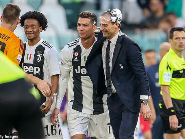 Ronaldo tỏa sáng, Juventus vô địch Serie A sớm 5 vòng: CR7 lộ tương lai