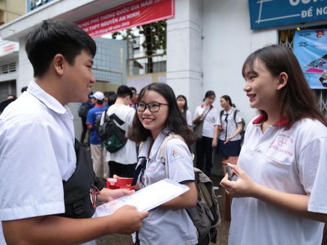 Hơn 887.000 thí sinh thi môn đầu kỳ thi THPT quốc gia 2019