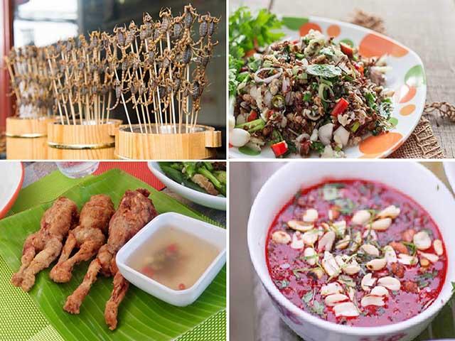 10 món ăn kỳ lạ bạn nhất định phải thử khi đi du lịch Thái Lan