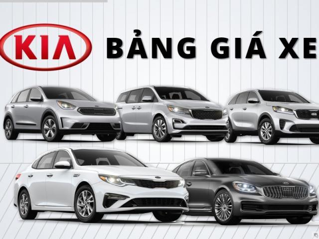 Giá xe KIA mới nhất tháng 6/2021 tất cả các phiên bản