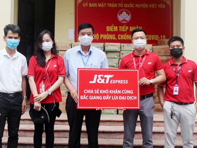 Chuyển phát nhanh J&T Express tiếp sức cùng Việt Nam chống dịch Covid