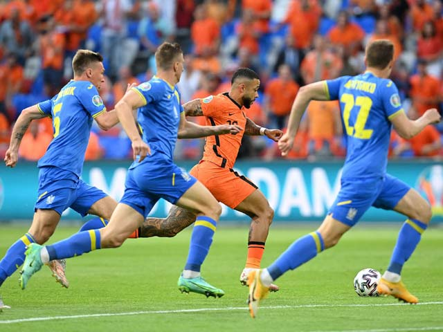 Trực tiếp bóng đá Hà Lan - Ukraine: Đôi công hấp dẫn