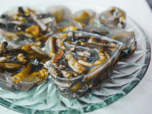 """Thạch giun biển, món ăn trông đáng sợ nhưng thử một lần lại dễ """"nghiện"""""""