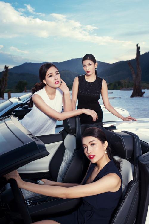 """Sốc vì chi phí """"khủng"""" của bộ ảnh chụp 7 Hoa hậu, Á hậu - 1"""