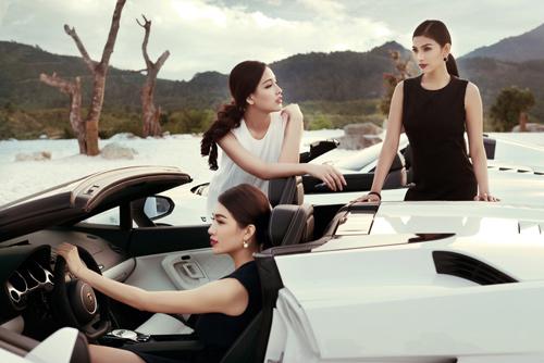 """Sốc vì chi phí """"khủng"""" của bộ ảnh chụp 7 Hoa hậu, Á hậu - 14"""