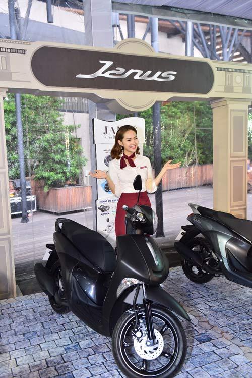 Lộ diện xe tay ga nhẹ nhất dành cho nữ - Yamaha Janus - 2