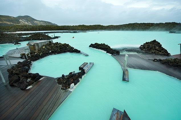 Tắm tiên ở suối nước nóng độc nhất vô nhị trên thế giới - 11