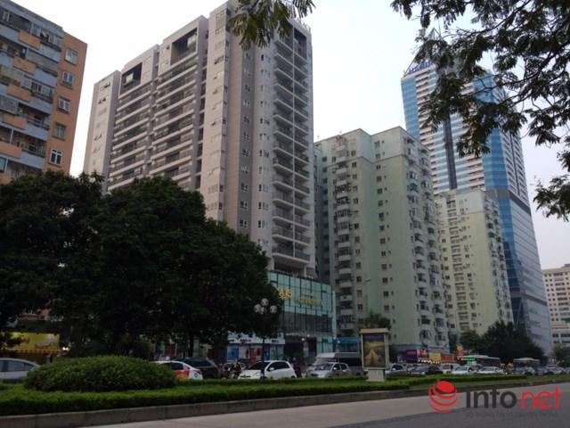 HN: Đường sá ngày càng tắc nghẹt vì chung cư bủa vây - 5