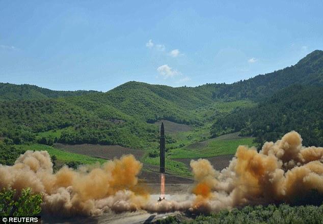 Mỹ xác nhận tên lửa Triều Tiên bắn ra là đạn đạo liên lục địa - 1