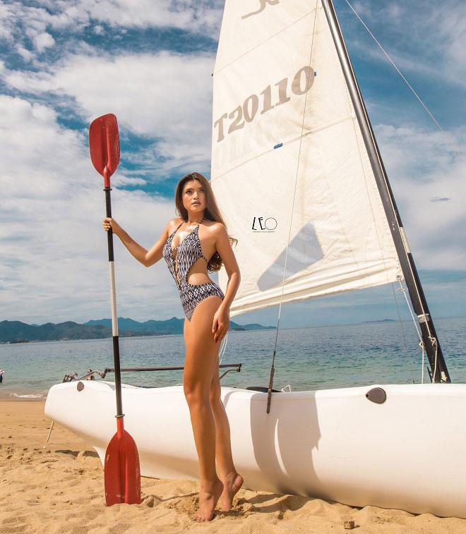 Mỹ nữ phồn thực Nha Trang giảm 15kg thần tốc để thi hoa hậu - 5