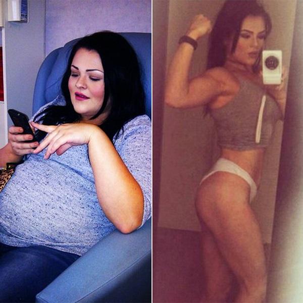 """Cô gái trẻ nặng 1 tạ gây ngỡ ngàng khi """"đá bay"""" 50kg mỡ - 1"""