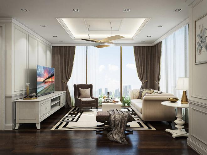 Xu hướng TV siêu mỏng trong các phòng khách hiện đại - 3