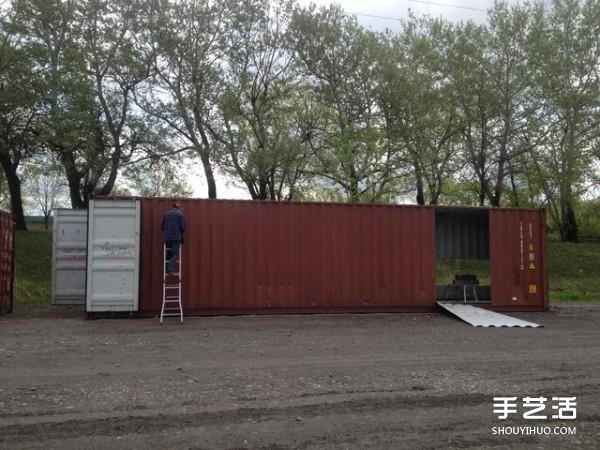 Biệt thự đẹp như mơ được cải tạo từ... thùng container - 2