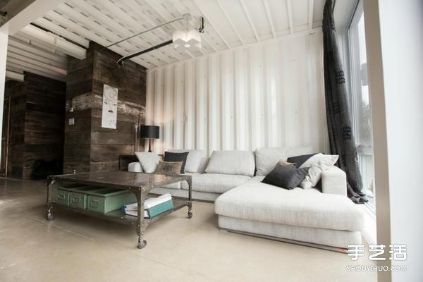 Biệt thự đẹp như mơ được cải tạo từ... thùng container - 6