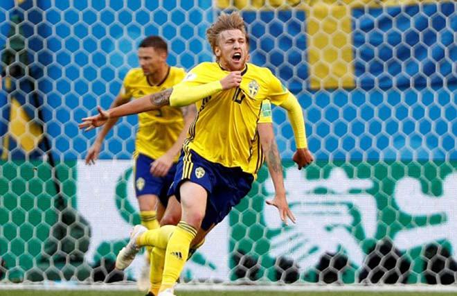 Thụy Điển - Thụy Sĩ: Khoảnh khắc ngôi sao, dấu chấm hết thẻ đỏ (World Cup 2018) - 2