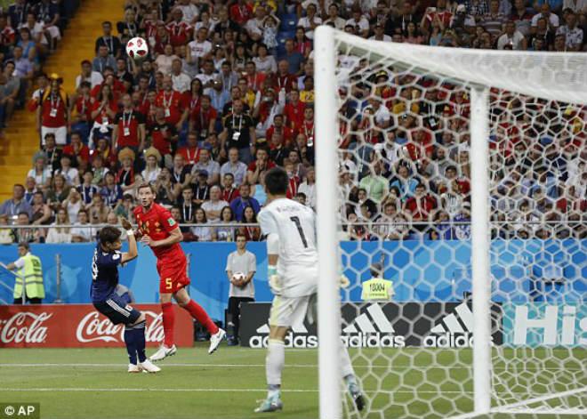 Bỉ - Nhật Bản: Siêu kịch tính ngược dòng 5 bàn thắng (World Cup 2018) - 2