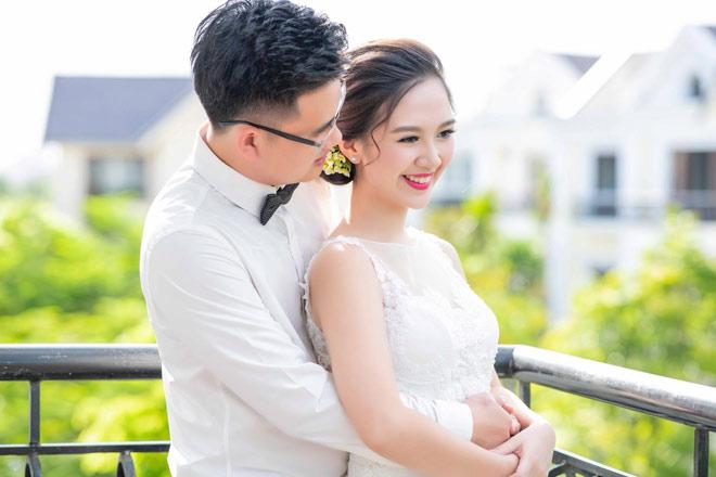 Hoa khôi Hà Anh bất ngờ khoe ảnh lên xe hoa về nhà chồng - 4
