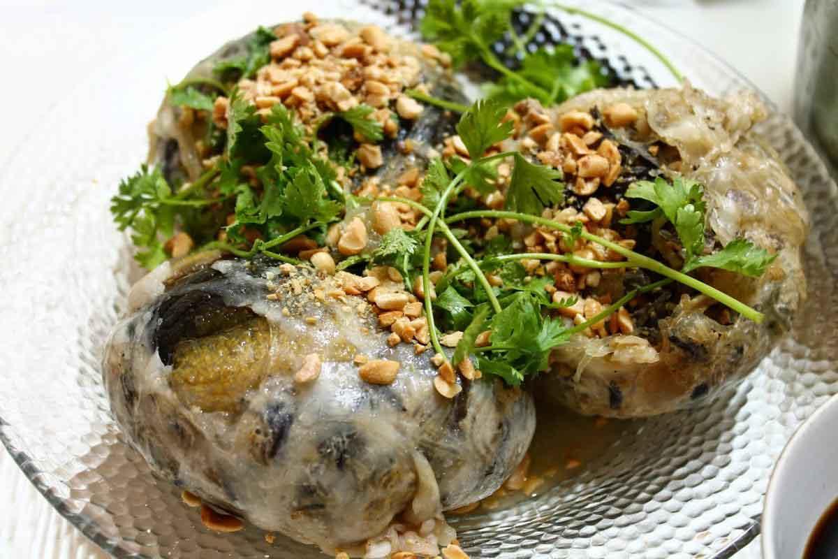 Bún cá sứa và lươn đùm bọc mỡ chài nổi tiếng ở Nha Trang - 2