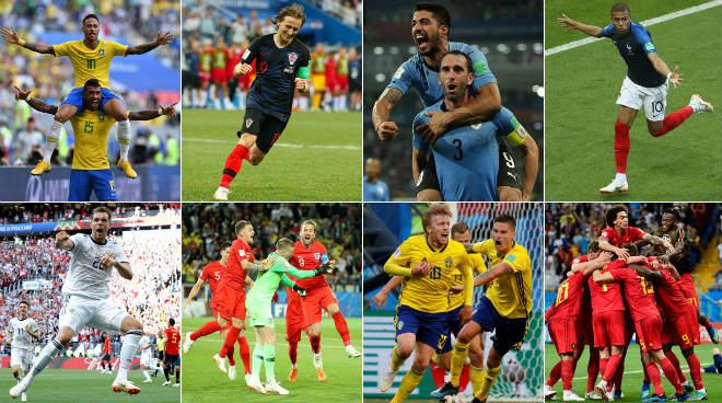"""Rực lửa tứ kết World Cup: Đại chiến """"ông trùm"""", cuộc chiến sinh - tử - 1"""