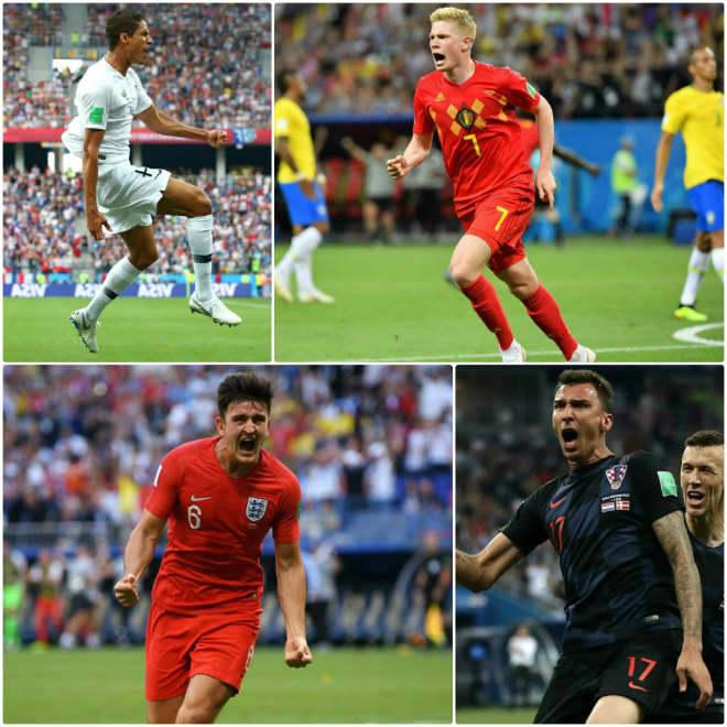 Tứ đại anh hào bán kết World Cup 2018: Đối thủ đáng gờm, kết cục khó đoán - 3