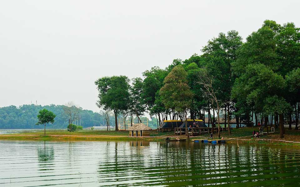 5 điểm mát xanh gần Hà Nội 'trốn nóng' những ngày hè 40 độ C - 6