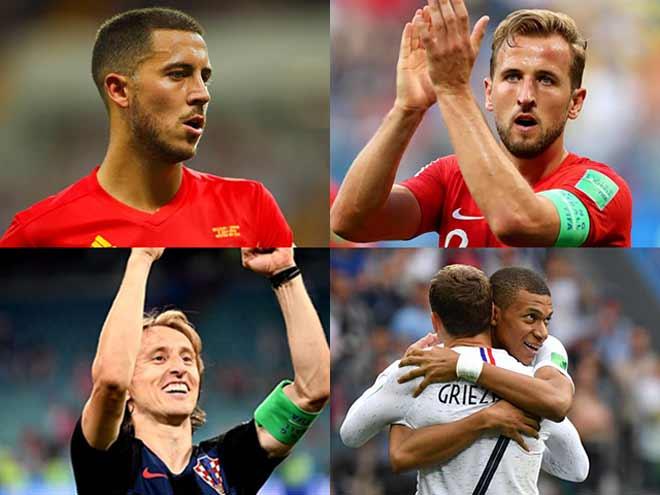 """Quả bóng Vàng World Cup: Loạn 12 """"sứ quân"""", Kane & Hazard sáng cửa - 1"""