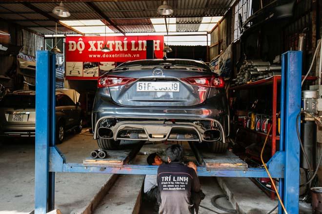"""Mazda 3 độ """"cực chất"""" dưới bàn tay của thợ Sài Gòn - 12"""