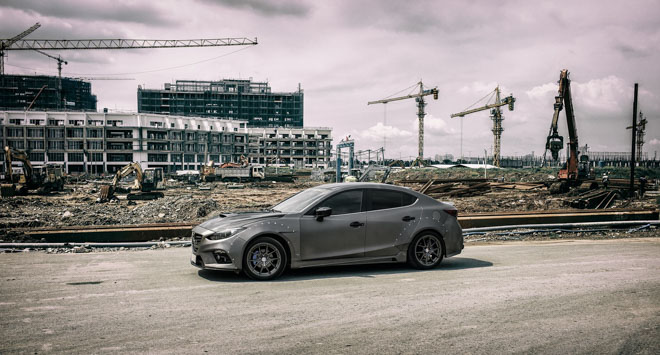 """Mazda 3 độ """"cực chất"""" dưới bàn tay của thợ Sài Gòn - 7"""