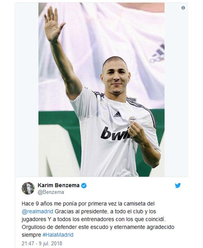 Thảm họa Real Madrid: Ronaldo ra đi, Benzema thông báo sốc - 2