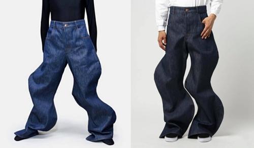 Những mẫu quần jeans quái dị mà đắt cắt cổ - 2
