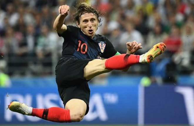 """Phi thường Modric: 33 tuổi, 3 trận 3 hiệp phụ, """"người không phổi"""" xứng đáng QBV - 4"""