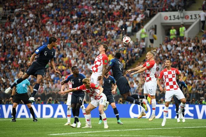 Chung kết World Cup, Pháp - Croatia: Cơn mưa 6 bàn, đăng quang xứng đáng - 1