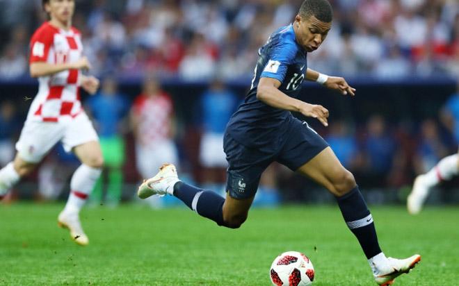 """""""Vua tốc độ"""" World Cup: Mbappe chạy """"xé gió"""" chưa là gì với Ronaldo - 1"""