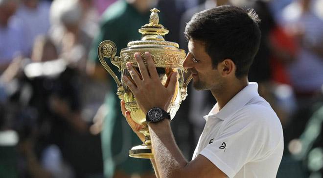 Djokovic lại vô địch Wimbledon: Báo động thế giới tennis, Federer - Nadal có sợ? - 3