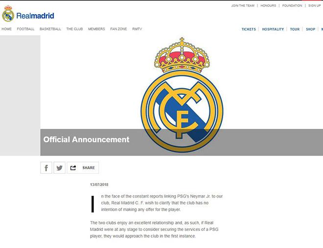 """Real & """"Người thừa kế"""" Ronaldo: Neymar cự tuyệt, chờ """"Hoàng tử bé"""" Mbappe - 2"""