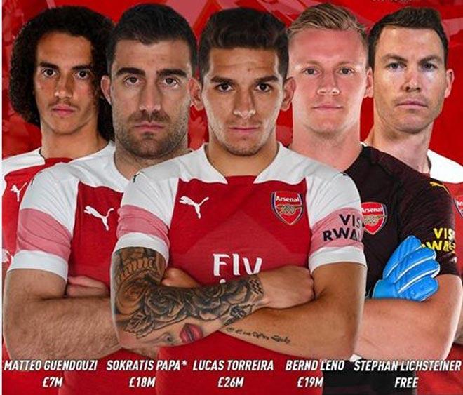 """Arsenal hậu Wenger: Binh hùng tướng mạnh vẫn """"hụt"""" Champions League? - 1"""