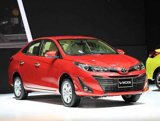 Giá xe Toyota cập nhật tháng 8: Toyota Vios 2018 mới giá 531 triệu đồng - 1