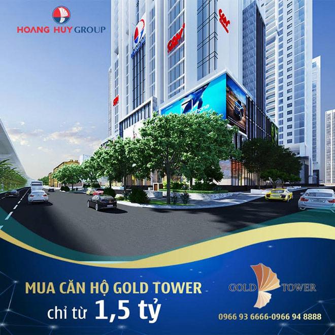 Dự án Gold Tower đạt tiến độ thi công 'thần tốc' - 3