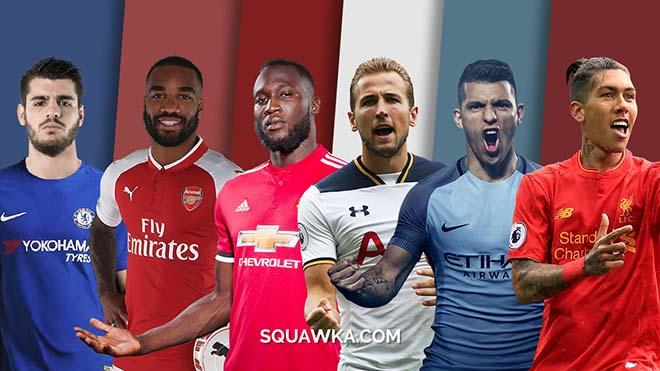 """Ngoại hạng Anh 2018/19: """"Sát thủ"""" tung hoành, Lukaku - Kane """"đe dọa"""" Salah - 1"""