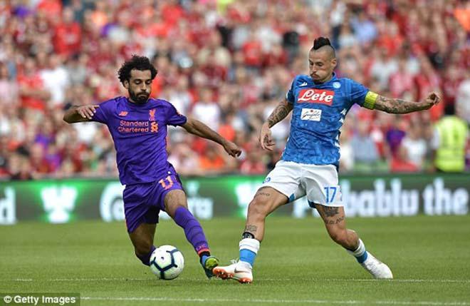 """Liverpool - Napoli: Salah chói sáng """"hủy diệt"""" bàn tay nhỏ - 1"""