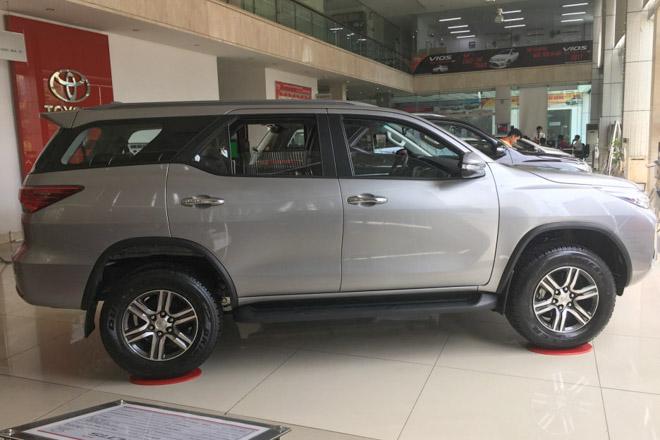 Giá xe Toyota Fortuner cập nhật tháng 8/2018 - 3