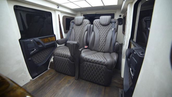 Chiêm ngưỡng chiếc SUV triệu đô: Mercedes-Benz G63 AMG Limosine chống đạn - 6