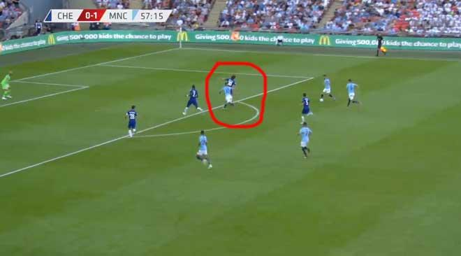 """Góc chiến thuật Man City – Chelsea: Pep tung chiêu """"3 kẹp 1"""" - 2"""