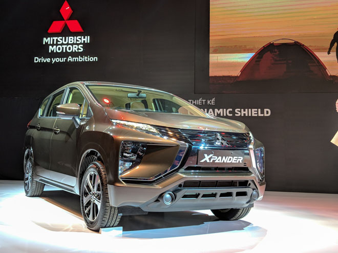 MPV 7 chỗ Mitsubishi Xpander 2018 chính thức ra mắt tại Việt Nam, giá bán từ 550 triệu đồng - 4