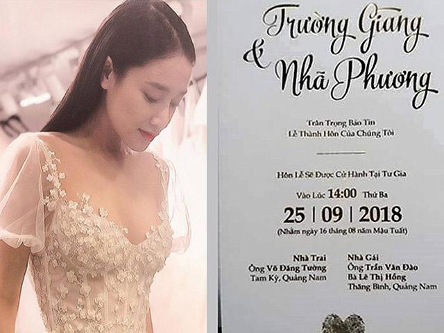 24h HOT: Nhã Phương yêu cầu khách dự tiệc cưới không đi kèm trẻ em