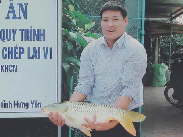 """""""Bể cá thần"""" nuôi cá dày đặc, lớn nhanh, doanh thu hơn 10 tỷ/năm"""