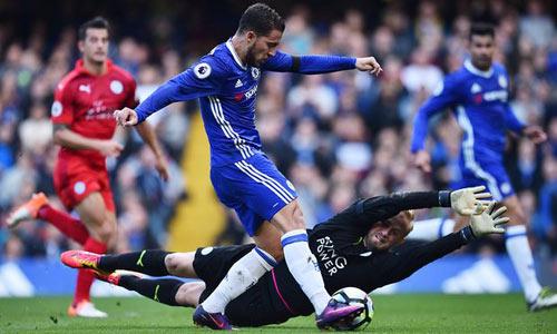 Chelsea - Leicester City: Hàng công bùng nổ - 1